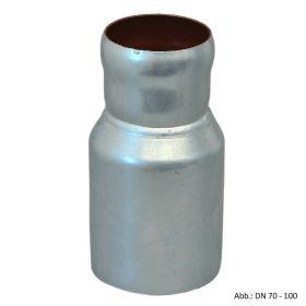 Loro-X-Stahl-Abflusssystem Übergangsrohr exzentrisch, DN 150-200