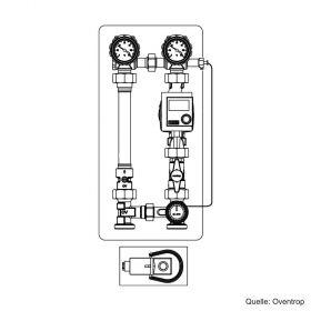 "Oventrop ""Regumat F-180"" DN 25, ohne Pumpe, DN 25, 1354270"