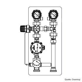 "Oventrop ""Regumat RTA-180"" DN 25 ohne Pumpe, 1354692"
