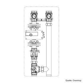 "Oventrop ""Regumat M3-220"", DN 40 ohne Pumpe, 1358340"