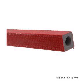 Quadro Schlauchisolierung aus PE-Weichschaum, mit Schutzfolie, Länge 2 m, Isolierstärke 7 x 15 mm
