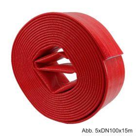 Isolier-Schutzschlauch, Länge 15m, aus PE mit Folienmantel, 5 x 50mm ID 65mm