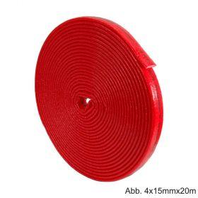 Isolier-Schutzschlauch 4mm, Länge 20m, aus PE-Weichschaum mit reißfestem Folienmantel, 4 x 15mm, ID 16,0 x 17,5mm