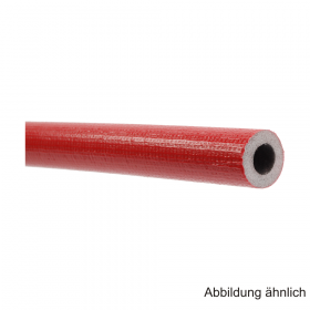 Isolierschlauch aus PE-Weichschaum, Länge 2m, ungeschlitzt mit Schutzfolie, RD 15mm / Isolierstärke 27mm
