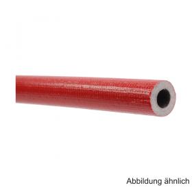 Isolierschlauch aus PE-Weichschaum, Länge 2m, ungeschlitzt mit Schutzfolie, RD 28mm / Isolierstärke 20mm