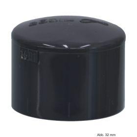 PVC-U Klebekappe, Klebemuffe, 16 bar, 160 mm