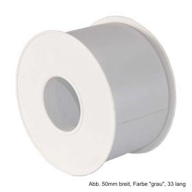 """PVC-Klebeband 30mm breit, Farbe """"grau"""", 33 Meter lang"""