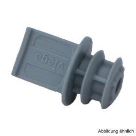 Viega Raxofix Stopfen, 16 mm, Modell 5359.1, Kunststoff