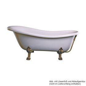Retro Style Badewanne Rectime 170x78x43 cm, weiß