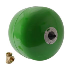 REFLEX Membran-Druckausdehnungsgefäß Refix DD 2, grün, 10 bar, 7381500