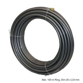 Rehau Universalrohr Rautitan Flex, 16 x 2,2 mm, 100 m Ring
