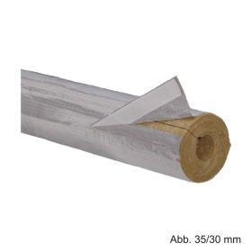 Rockwool Heizungsrohrschale 800, Länge 1000mm, Rohrdurchmesser 89mm / Dämmstärke 30mm
