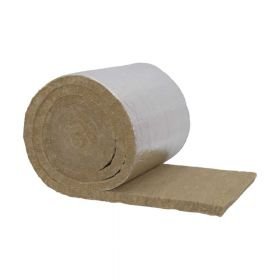 Rockwool Steinwollematte Klimarock mit Alufolie kaschiert, Isolierstärke 20mm, Länge 9350mm Breite 500mm