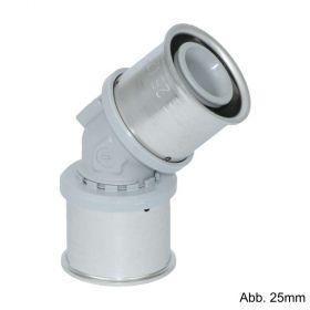 Roth RIS Winkel 45°, 25 x 25 mm, Kunststoff