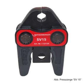 Rothenberger Pressbacke Standard System SV 15, 105212X