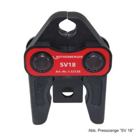 Rothenberger Pressbacke Standard System SV 18, 015213X