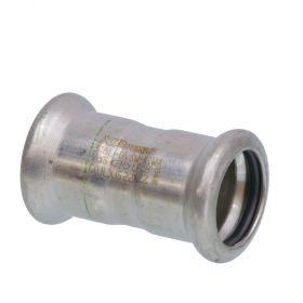 SEPPELFRICKE Edelstahl XPS270, Muffe I/I, 15 mm