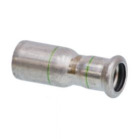 SEPPELFRICKE Edelstahl XPS243, Reduzierstück, 18 x 15 mm