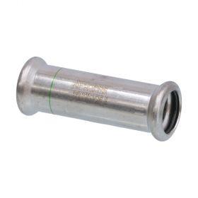 SEPPELFRICKE Edelstahl XPS270S, Schiebemuffe I/I mm, 15 mm