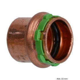 SEPPELFRICKE Sudo-Press Kupfer VC301 Kappe, 12 mm