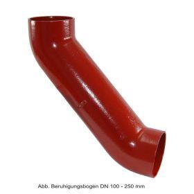 SML-Beruhigungsbogen DN 100 - 250 mm