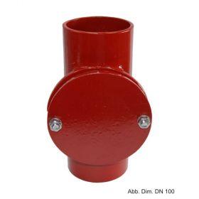 SML-Reinigungsrohr runde Öffnung DN 50