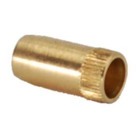 Schneidringverschraubung Verstärkungshülse, Messing, 4mm für Rohr 6 x 1mm