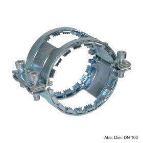 Universalkralle 2-teilig verzinkt, für Rapid- und CV-/CE-Verbinder DN 80