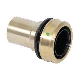 Viega Raxofix Einsteckstück mit SC-Contur für alle metall. Viega Systeme, Modell 5313, 16 x 15 mm, Rotguss