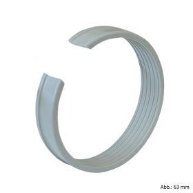 Viega Maxiplex-Klemmring für Übergang auf PVC-Druckrohr, Modell 9050 mm, 25 mm, Rotguss