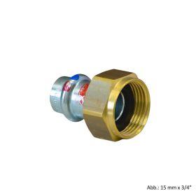 """Viega Prestabo labs-frei, Modell 1163LF Anschlussverschraubung, 54 mm x G 2 1/2"""""""