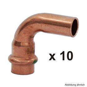 Viega Profipress Bogen Kupfer I-A 90°, Serie 2416.1, 12 mm, 10 St.