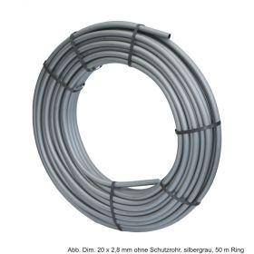 Viega Raxofix PE-Xc/AI/PE-Xc-Rohr 16 x 2,2 mm ohne Schutzrohr, silbergrau, 100 m Ring