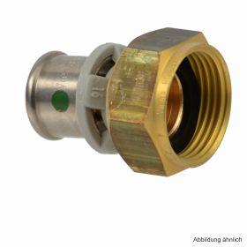"""Viega Sanfix P-Anschlussverschraubung flachdichtend, 40 mm x 1 1/4"""""""
