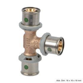 Viega Sanfix P-T-Stück, 16 mm x 16 mm x 16 mm