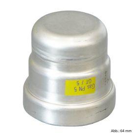 Viega Sanpress Inox-G Kappe, 15 mm