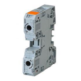 Wago 2-Leiter-Durchgangsklemme 35qmm, mit Power-Cage-Clamp Anschluss, grau, 285-135