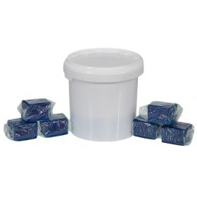 Wasserkastenwürfel, 17 Würfel, für Geberit-, Tece-, Grohe-Einwurfschächte geeignet