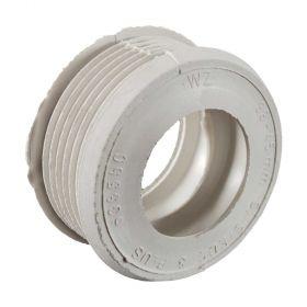 WC-Spülrohrverbinder Gummi weiß D=55mm für Spülrohr 38-45mm (Spülkasten) ohne Rosette